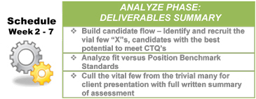 Lean Sigma Search - Analyze Deliverables