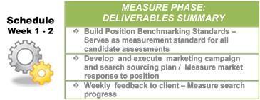 Lean Sigma Search - Measure Deliverables